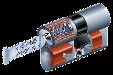 Keso Omega Zylinder und Schlüssel für Schliessanlage