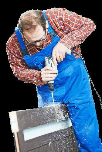 Reparatur defekter Türen, Fenster sowie Sicherheitstechnik in Herne.